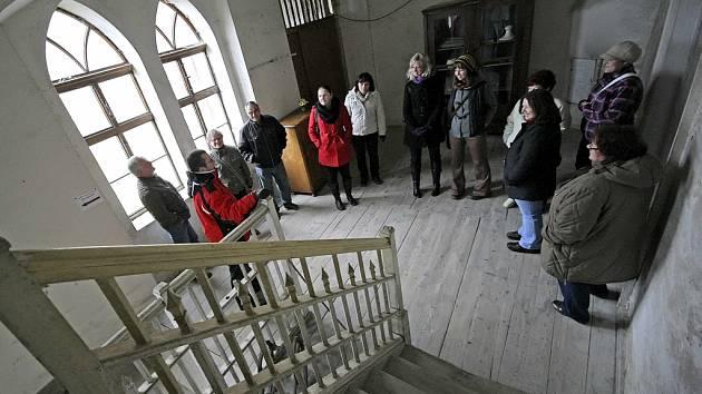 Prohlídka brtnického zámku. Ilustrační foto.