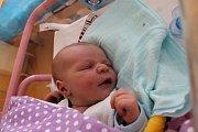 Jonáš Hudínek z Telče se narodil 9. května v jindřichohradecké porodnici. Měřil 52 centimetrů a vážil 3920 gramů.