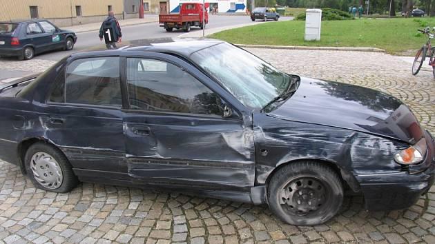 Hned několika přestupků se dopustil řidič osobního vozu Hyundai.