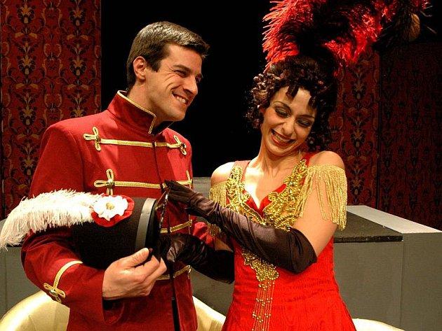 Roli klášterní chovanky Denisy v Horáckém divadle ztvárňuje Barbora Mošnová (na snímku).
