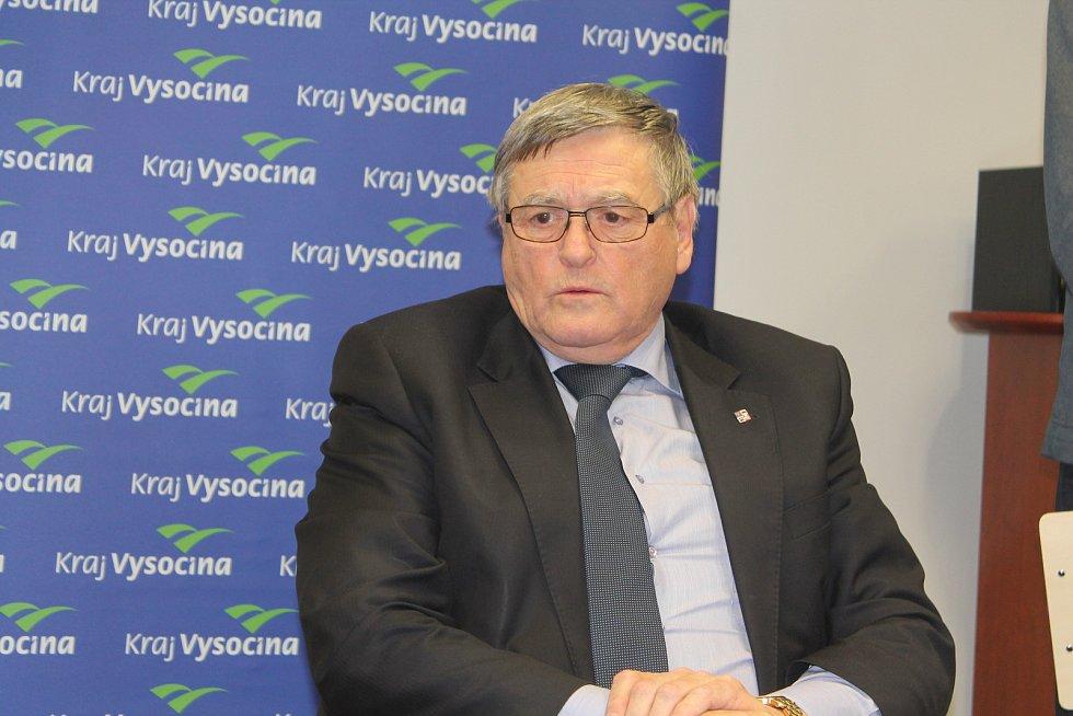 Hejtman Kraje Vysočina Jiří Běhounek (ČSSD).