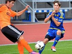 Jihlavští dorostenci si v Moravskoslezské lize připsali další vítězství. Tentokrát doma porazili Znojmo.