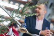 Barevné Vánoce v sídle Kraje Vysočina v Jihlavě.