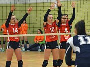 Extraligové juniorky KCTM Vysočina první nadstavbový turnaj  v Praze zvládly jen z části. Po dvou výhrách v tie-breaku a jedné porážce po zkrácené hře, skončily druhé. A to bylo podle trenérky Melicharové málo.