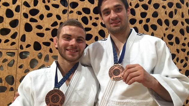 David Pulkrábek (vlevo).