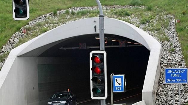 Jihlavský tunel.