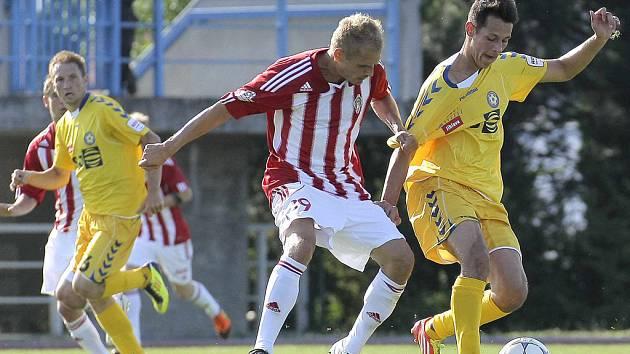 Fotbalisté Jihlavy poprvé v přípravě zvítězili.