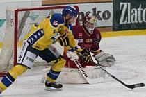 Třikrát se zatím museli letos sklonit jihlavští hokejisté před uměním protivníka z Ústí nad Labem. Dnes budou mít další možnost obávané Lvy zkrotit.