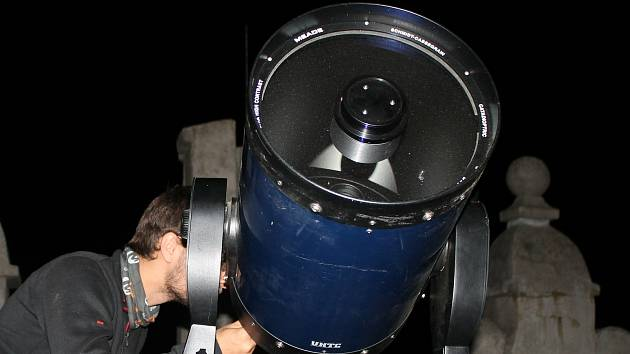 Astronomický tábor. Ilustrační foto.