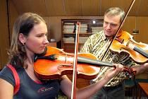 Telč se proměnila na vysokou hudební školu pro desítky nadaných mladých muzikantů.