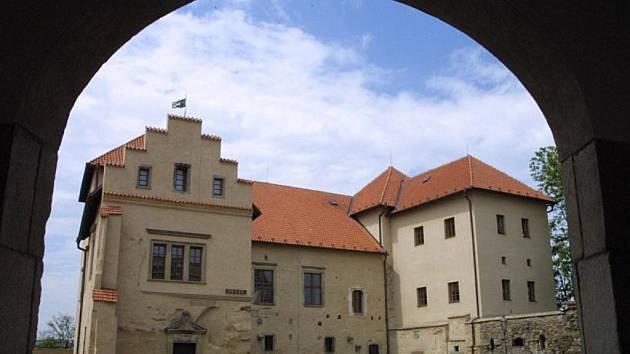 Zámek v Polné.