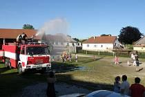 Dobrovolní hasiči se neúčastní jenom požárních závodů, ale pořádají ve Staré Říši spoustu akcí pro místní obyvatele.