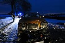 Škoda na třech havarovaných vozech je dohromady přes milion a  půl.