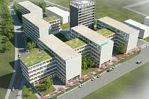 Obchodně – administrativní centrum Iglavia park na Jiráskově ulici by mělo začít růst už v příštím roce.