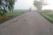 Policisté hledají svědky vážné nehody mezi Telčí a Horní Myslovou
