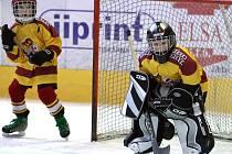 Hokejová drobotina se sjela na Horácký zimní stadion, kde se představily i dva výběry domácí Dukly.