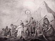 Jan Florian, freska.