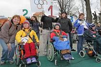 Druhý ročník paralympiády v Jihlavě.