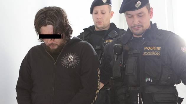 Pavel T., který loni na konci října v Počátkách na Pelhřimovsku brutálně ubodal své dva bratry a dalšího se pokusil zabít, byl podle znalců v době činu nepříčetný.