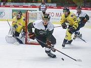 Utkání 22. kola Chance ligy mezi HC Dukla Jihlava a HC Slovan Ústí nad Labem.