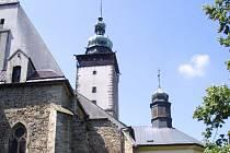 Kostel svatého Jakuba.