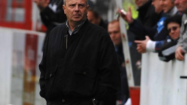 Jihlavský trenér Milan Bokša musel na Žižkově překousnout  už druhou jarní porážku.
