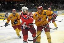 I počtvrté v této sezoně se v derby mezi tradičními rivaly, Jihlavou a Havlíčkovým Brodem, zrodilo vítězství domácího týmu. Dukle (ve žlutých dresech) se vydařil vstup do utkání, branka Čachotského z první minuty ovlivnila vývoj zápasu.