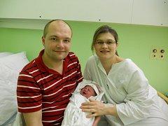 Amálie Güntherová, 8. 1. 2013, 3 670 g, Horní Krupá
