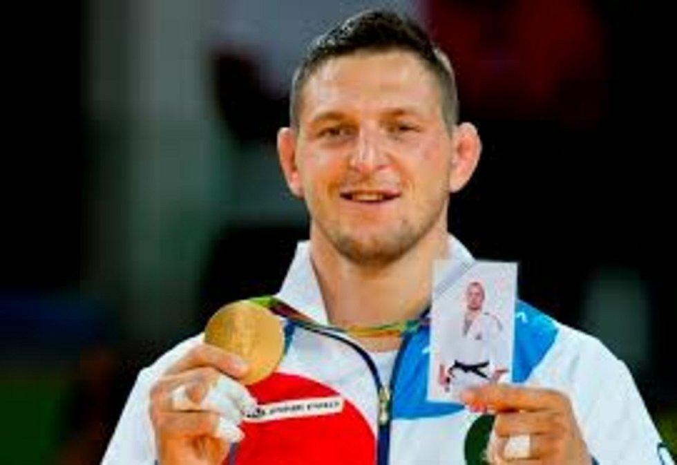 Olympijský vítěz a mistr světa Lukáš Krpálek.