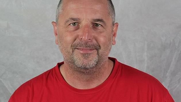 Trenér Horácké Slavie Roman Mejzlík je momentálně v nemocnici.