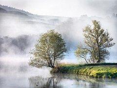 Váňovský rybník. Tak se jmenuje vítězná fotografie Michala Ondráčka v soutěži Třešť a okolí.