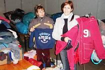Sbírka oblečení a věcí pro Diakonii Broumov v Brtnici