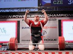 Jihlavský silový trojbojař David Lupač je v kategorii nad 120 kg nejsilnějším mužem na světě v tomto sportu!