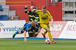 Utkání 21. kola FNL mezi FC Vysočina Jihlava a FK Varnsdorf.