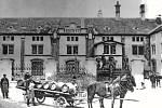 Rozvoz piva v roce 1913.