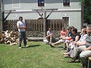 Setkání rodáků, občanů a přátel Kostelní Myslové zpestřilo divadelní představení či výstava fotografií.