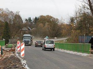Most na Pančavě je hotový. Řidiči však musí zpomalit