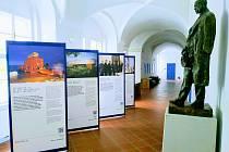 Výstava v Univerzitním centru Telč. Foto: archiv UCT