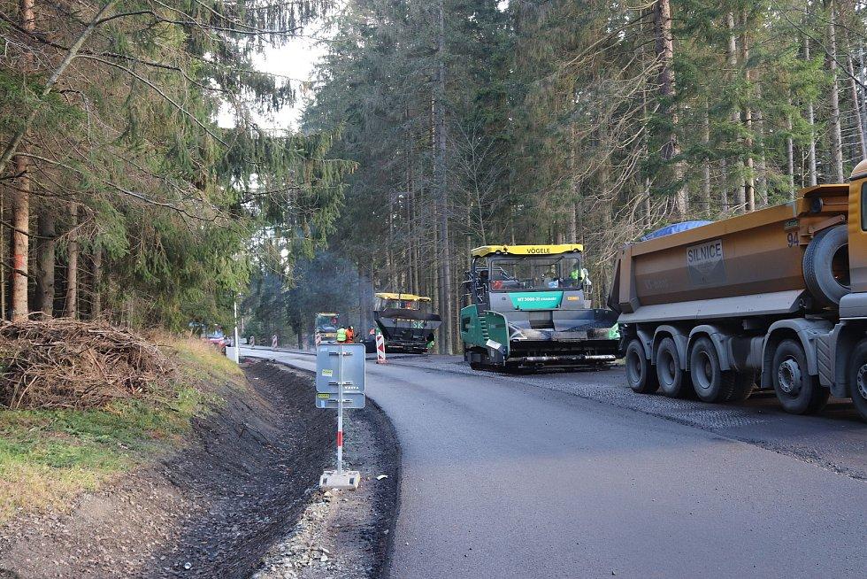 Opravy silnic. Ilustrační foto
