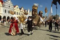 Historické slavnosti v Telči. Ilustrační foto.