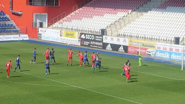 Přípravné utkání FC Vysočina Jihlava - Zbrojovka Brno.