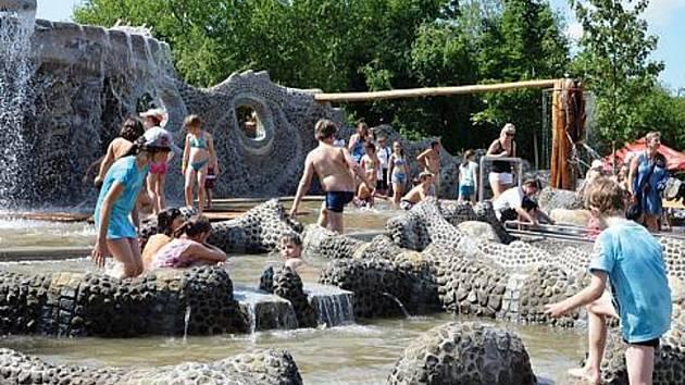 Vodní svět v podobě unikátního venkovního komplexu Mirakulum.