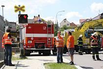 Výstražné zařízení po nehodě fungovalo.