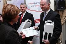 Ceny v kategoriích Exportér roku 2012 převzal za vedení firmy Petr Novotný, vedoucí úseku logistiky Bosch Diesel,  s. r. o.
