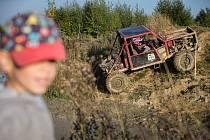 Trucktrial v Pístově u Jihlavy.
