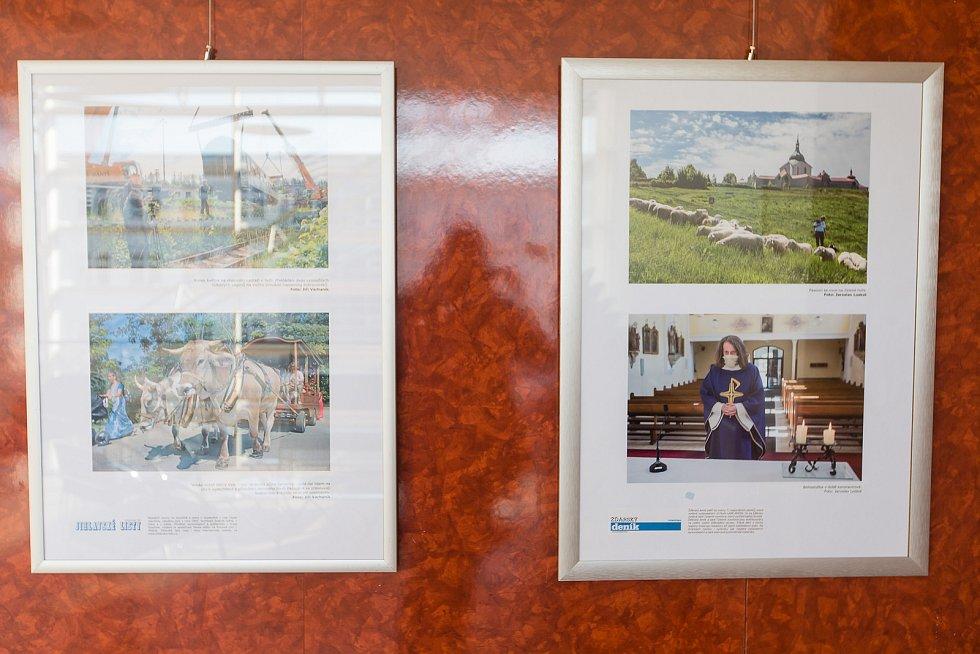 Výstava Region Press Foto 2020 v prostorách Krajského úřadu Kraje Vysočina v Jihlavě.