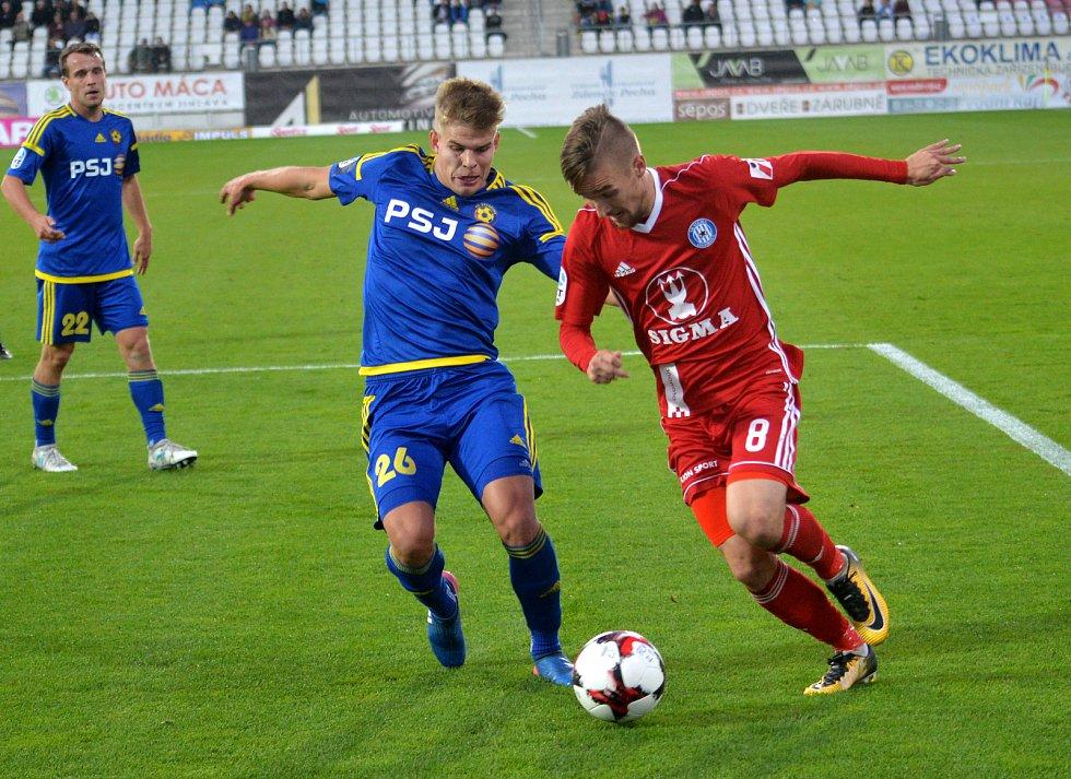 Utkání FC Vysočina: Olomouc.