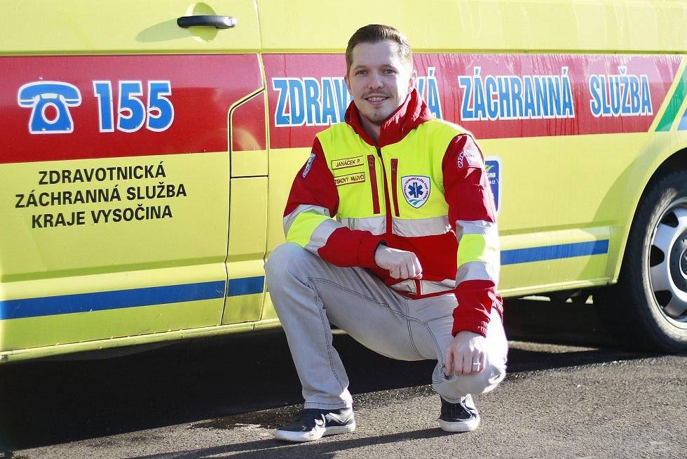 Mluvčí Zdravotnické záchranné služby Kraje Vysočina Petr Janáček.