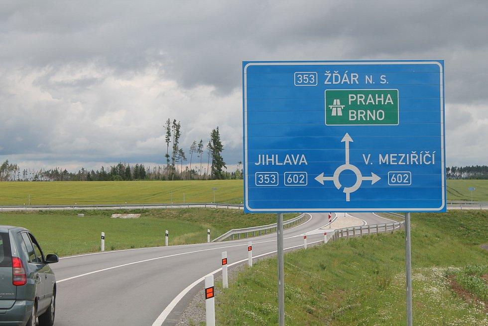Obchvat Velkého Beranova výrazně ulevil místním od dopravy.