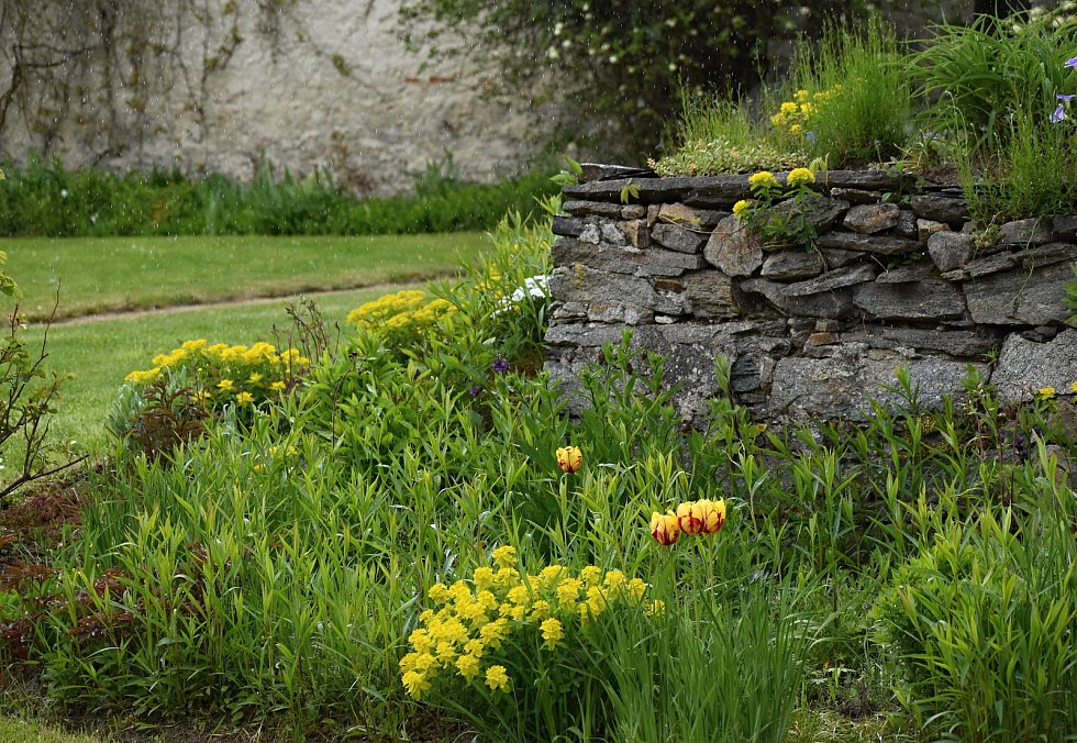 Kouzelné zahrady si přišli prohlédnout místní i přespolní.